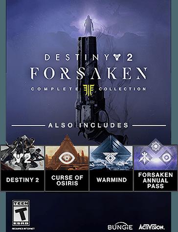 a2139edef30 Forsaken Legendary Collection